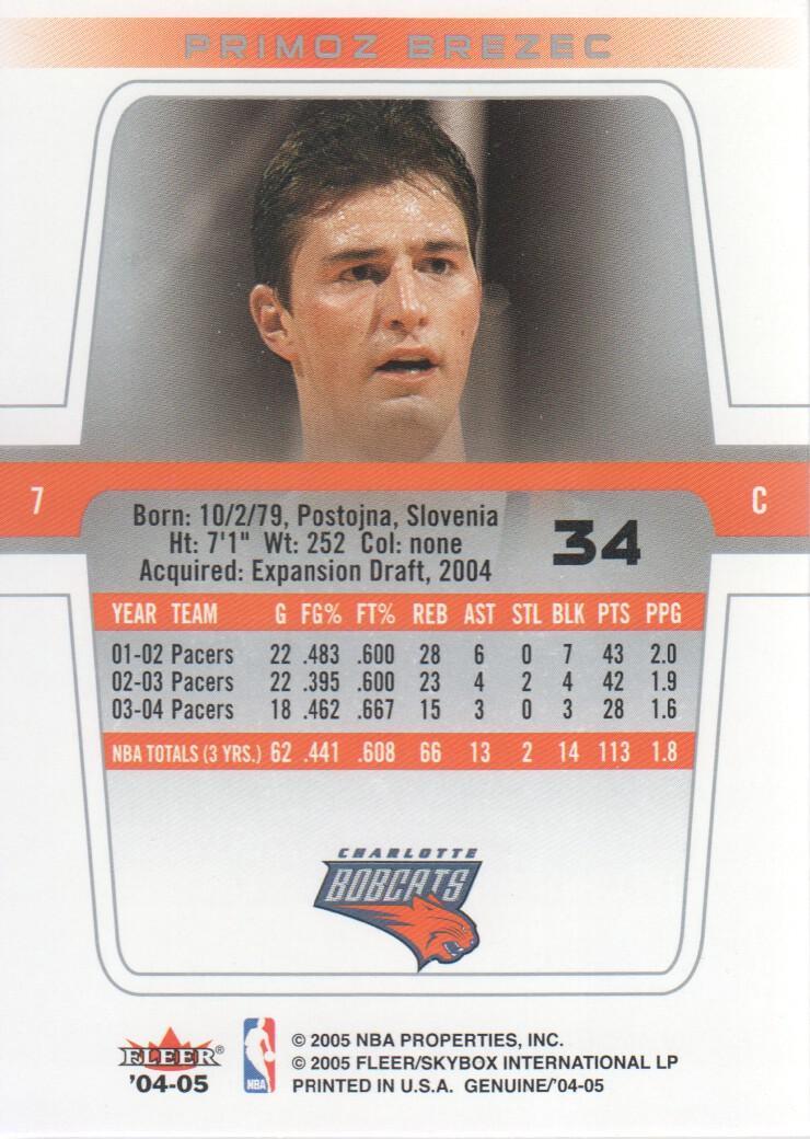 2004-05-Fleer-Genuine-Basketball-Cards-Pick-From-List thumbnail 35