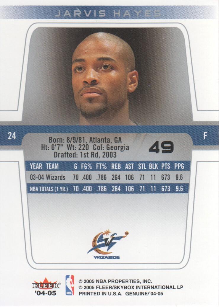 2004-05-Fleer-Genuine-Basketball-Cards-Pick-From-List thumbnail 53