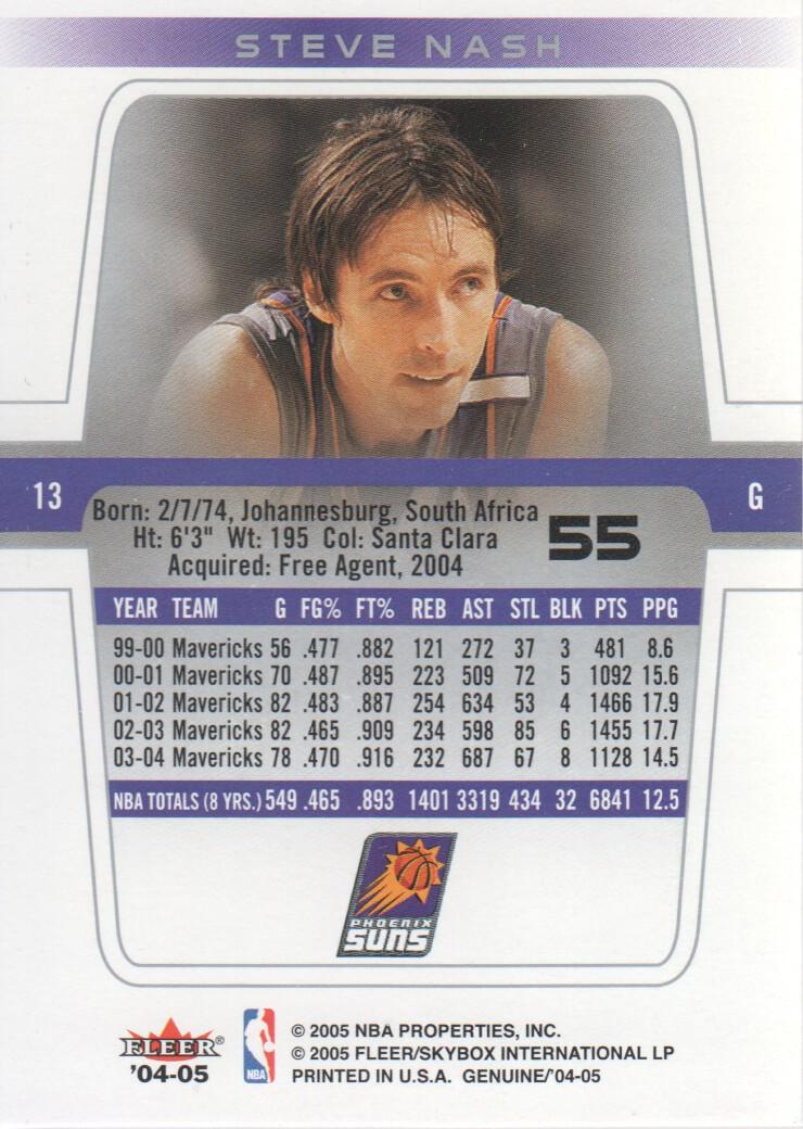 2004-05-Fleer-Genuine-Basketball-Cards-Pick-From-List thumbnail 63