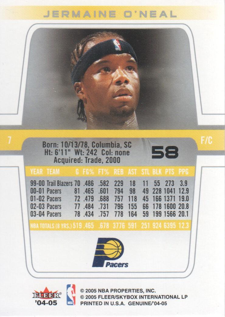 2004-05-Fleer-Genuine-Basketball-Cards-Pick-From-List thumbnail 67