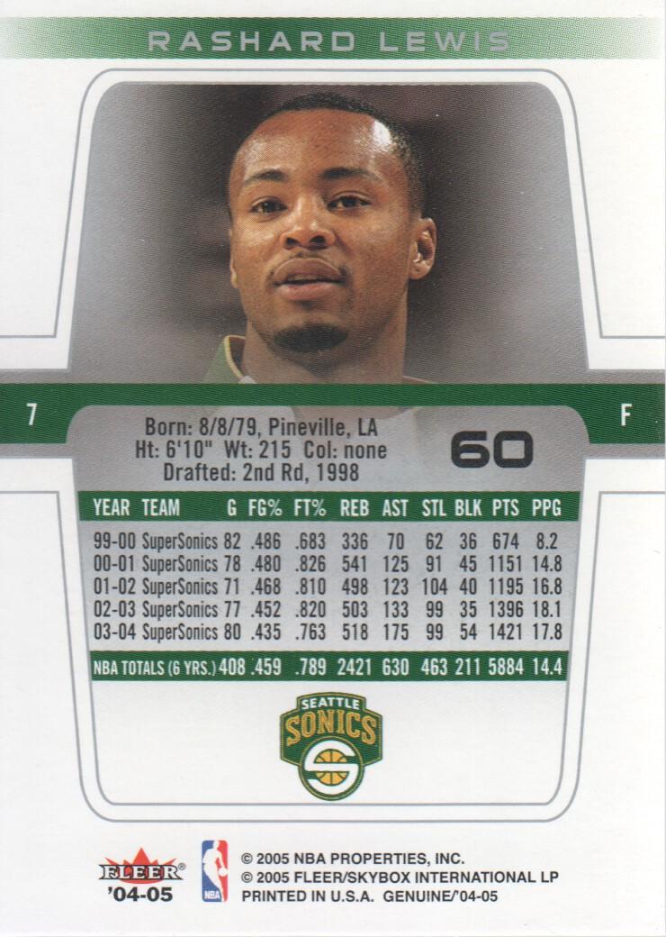 2004-05-Fleer-Genuine-Basketball-Cards-Pick-From-List thumbnail 69
