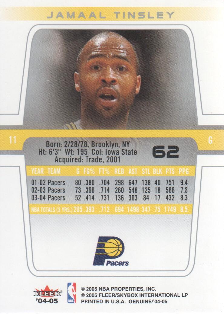 2004-05-Fleer-Genuine-Basketball-Cards-Pick-From-List thumbnail 71