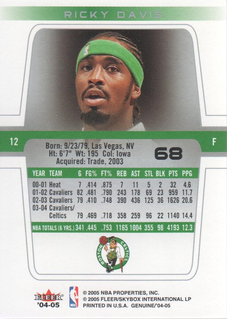 2004-05-Fleer-Genuine-Basketball-Cards-Pick-From-List thumbnail 73