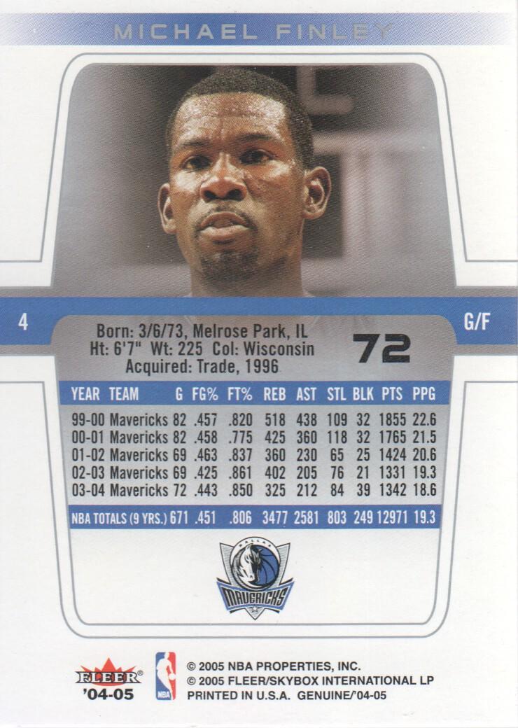 2004-05-Fleer-Genuine-Basketball-Cards-Pick-From-List thumbnail 79