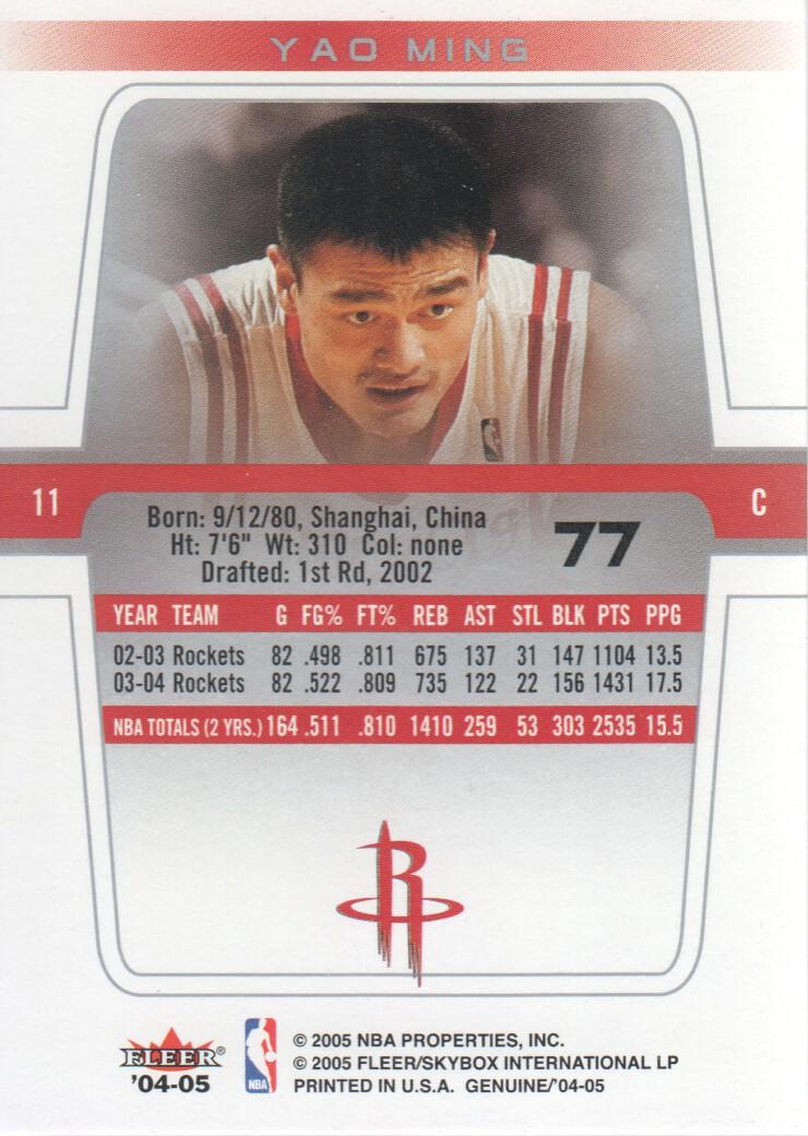 2004-05-Fleer-Genuine-Basketball-Cards-Pick-From-List thumbnail 83
