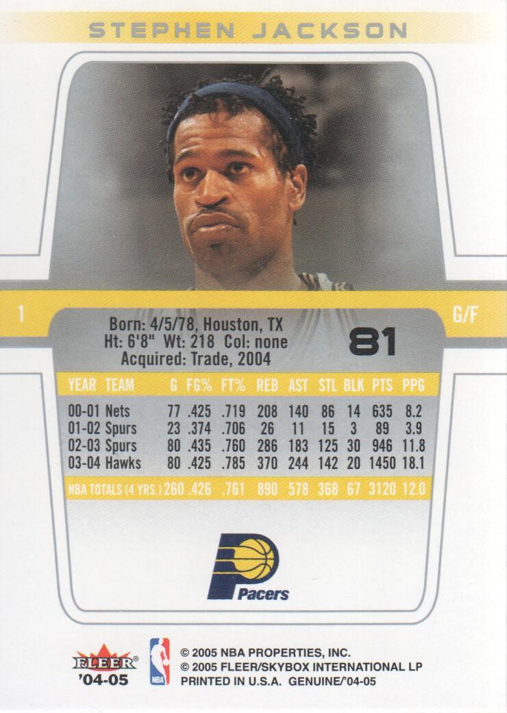 2004-05-Fleer-Genuine-Basketball-Cards-Pick-From-List thumbnail 87