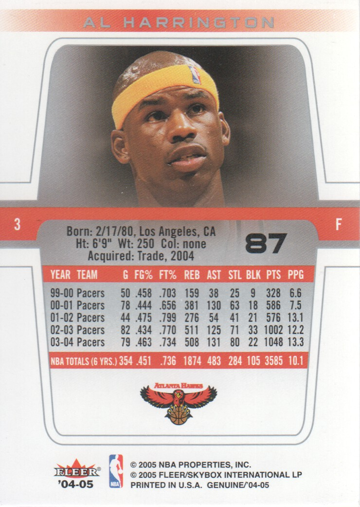 2004-05-Fleer-Genuine-Basketball-Cards-Pick-From-List thumbnail 93