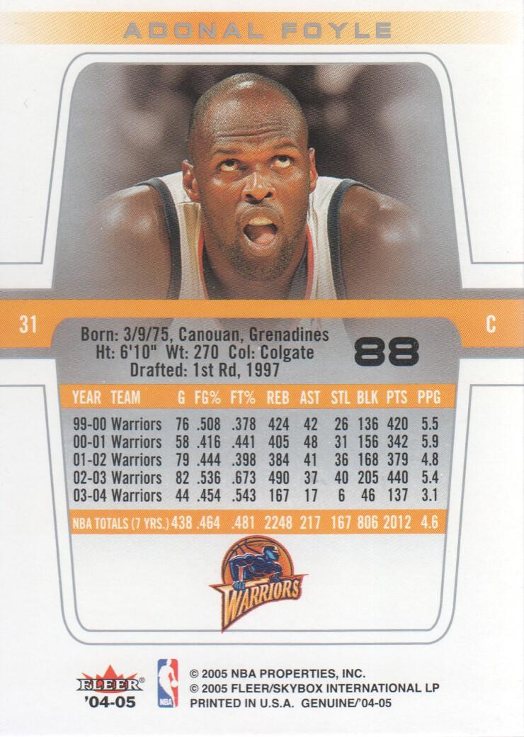 2004-05-Fleer-Genuine-Basketball-Cards-Pick-From-List thumbnail 95