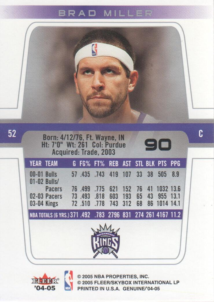 2004-05-Fleer-Genuine-Basketball-Cards-Pick-From-List thumbnail 99