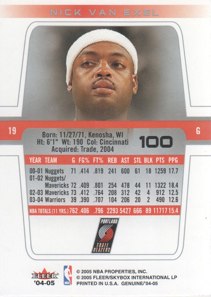2004-05-Fleer-Genuine-Basketball-Cards-Pick-From-List thumbnail 111