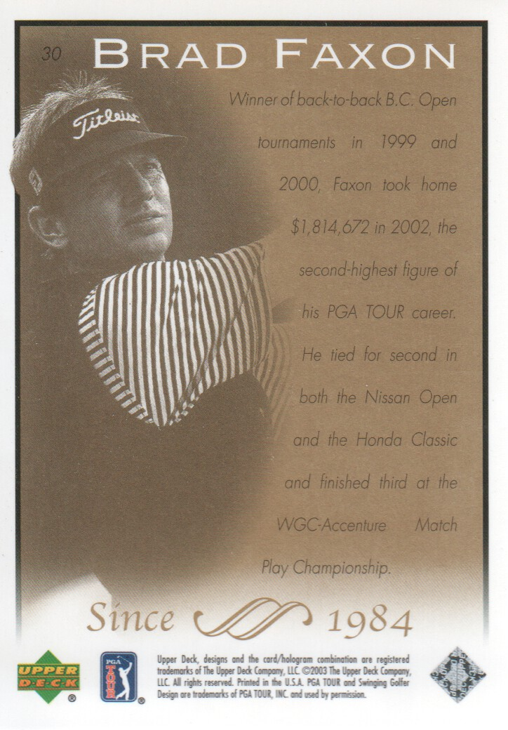 2003-Upper-Deck-Golf-Cards-Pick-From-List miniature 59