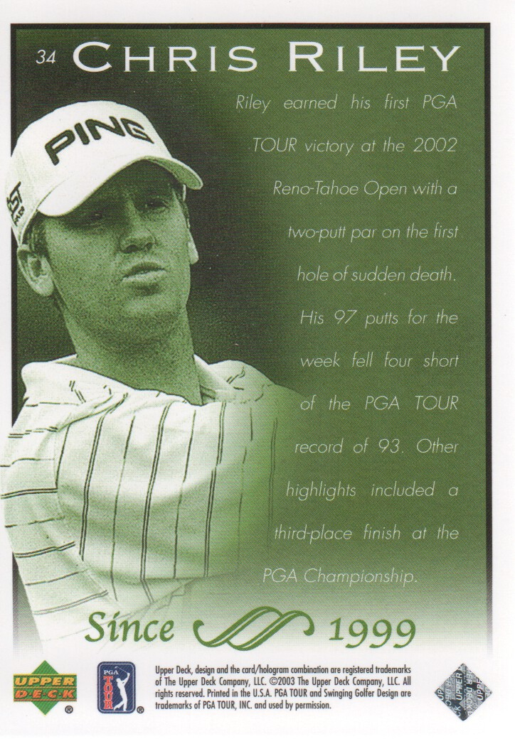 2003-Upper-Deck-Golf-Cards-Pick-From-List miniature 67