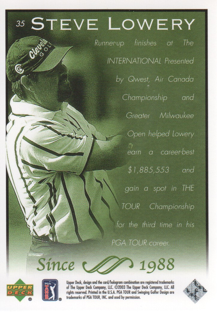 2003-Upper-Deck-Golf-Cards-Pick-From-List miniature 69