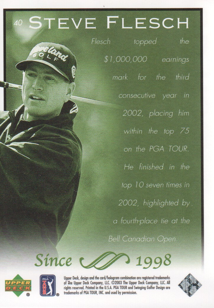 2003-Upper-Deck-Golf-Cards-Pick-From-List miniature 79