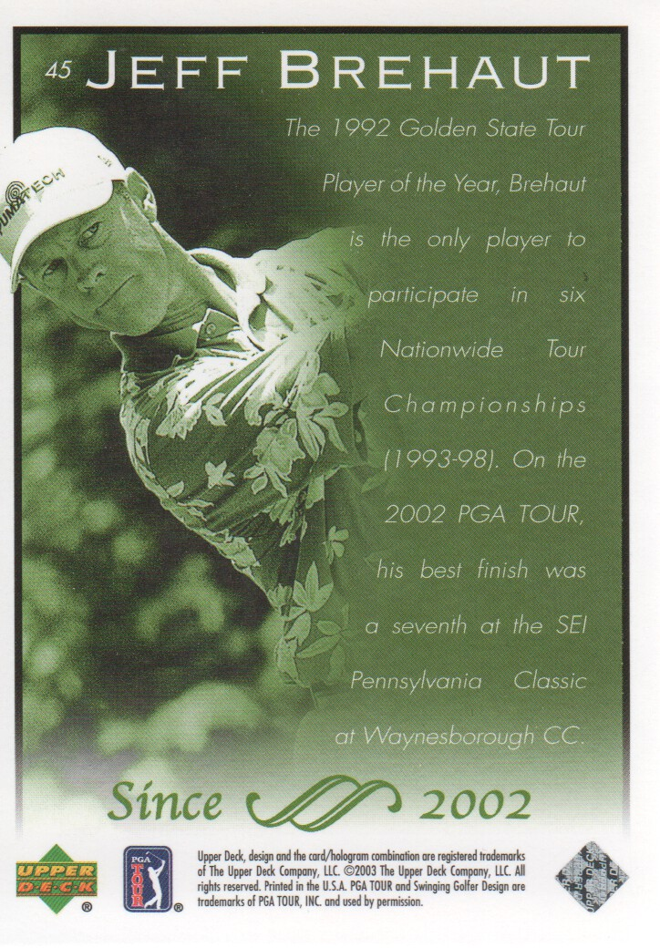 2003-Upper-Deck-Golf-Cards-Pick-From-List miniature 85