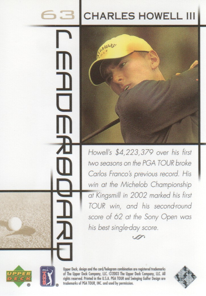 2003-Upper-Deck-Golf-Cards-Pick-From-List miniature 97