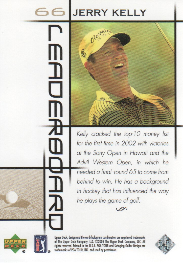 2003-Upper-Deck-Golf-Cards-Pick-From-List miniature 103