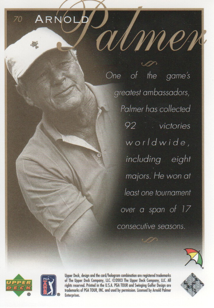 2003-Upper-Deck-Golf-Cards-Pick-From-List miniature 111