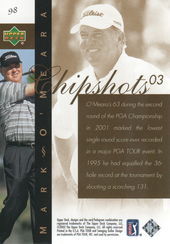 2003-Upper-Deck-Golf-Cards-Pick-From-List miniature 163