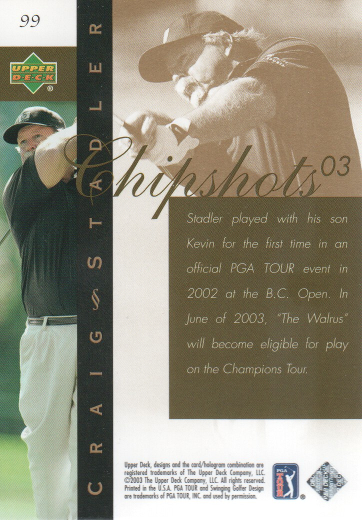 2003-Upper-Deck-Golf-Cards-Pick-From-List miniature 165