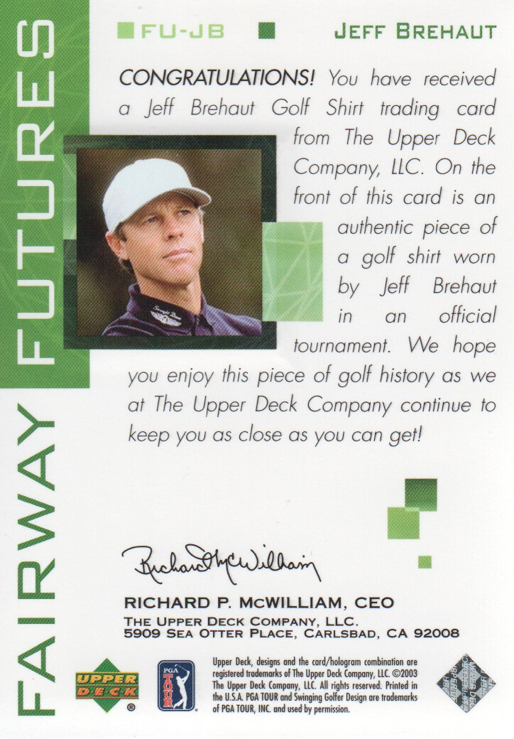 2003-Upper-Deck-Golf-Cards-Pick-From-List miniature 187