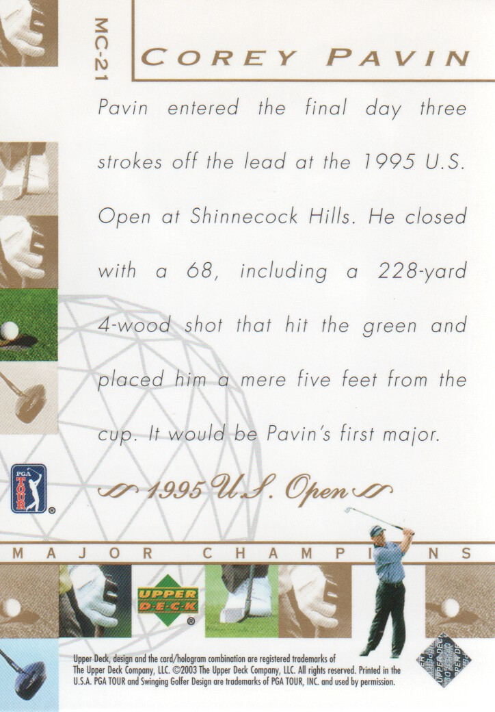 2003-Upper-Deck-Golf-Cards-Pick-From-List miniature 235
