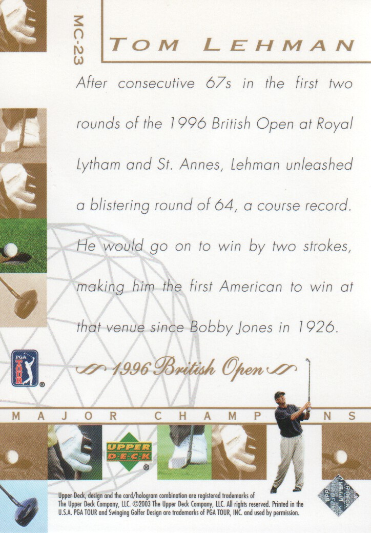 2003-Upper-Deck-Golf-Cards-Pick-From-List miniature 239