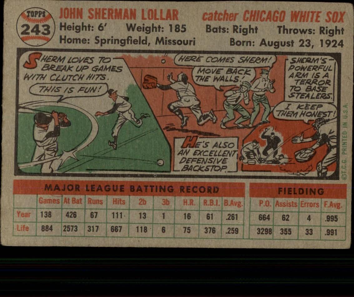 1956-TOPPS-BASEBALL-ASSORTED-SINGLES-U-PICK-242-319 thumbnail 5