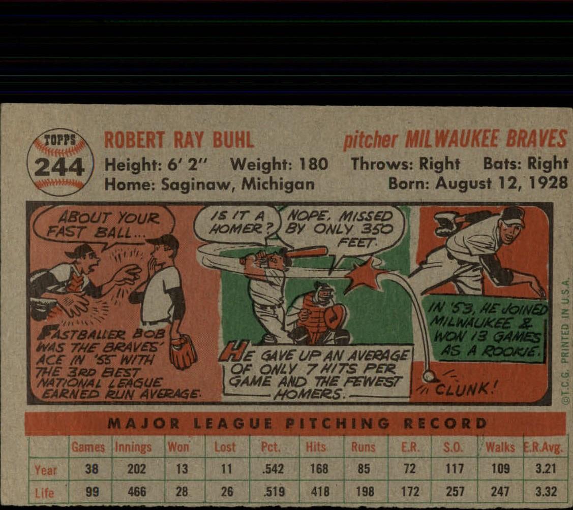 1956-TOPPS-BASEBALL-ASSORTED-SINGLES-U-PICK-242-319 thumbnail 7