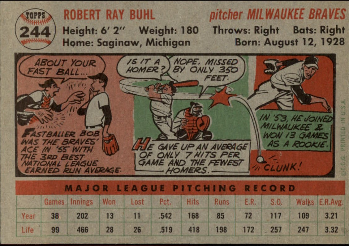 1956-TOPPS-BASEBALL-ASSORTED-SINGLES-U-PICK-242-319 thumbnail 9