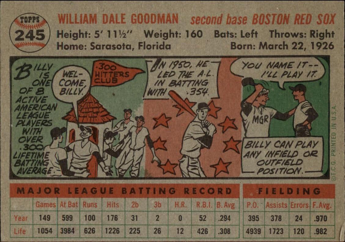 1956-TOPPS-BASEBALL-ASSORTED-SINGLES-U-PICK-242-319 thumbnail 11