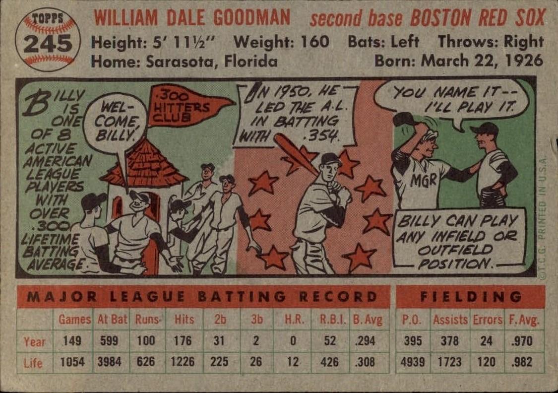 1956-TOPPS-BASEBALL-ASSORTED-SINGLES-U-PICK-242-319 thumbnail 15