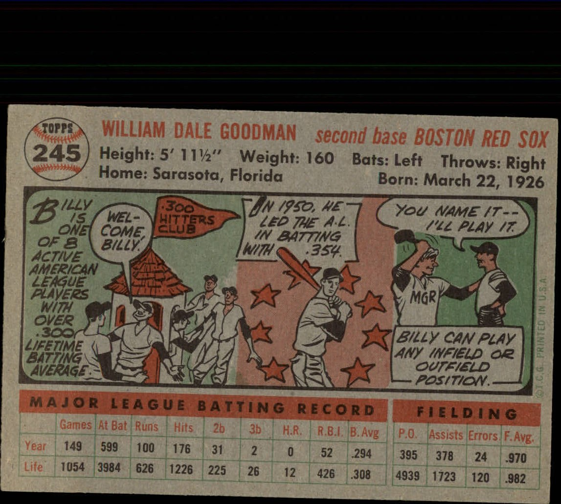 1956-TOPPS-BASEBALL-ASSORTED-SINGLES-U-PICK-242-319 thumbnail 17