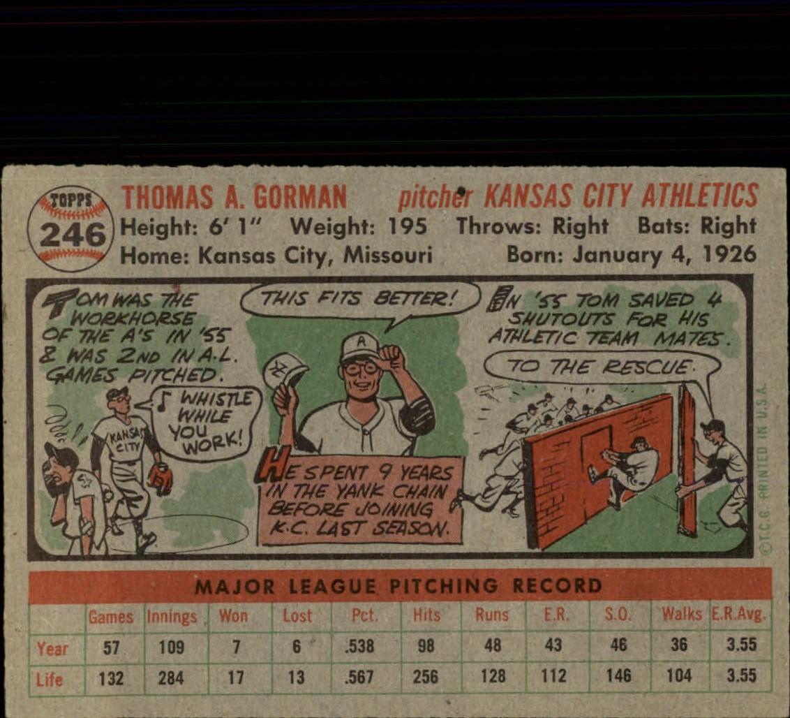 1956-TOPPS-BASEBALL-ASSORTED-SINGLES-U-PICK-242-319 thumbnail 23