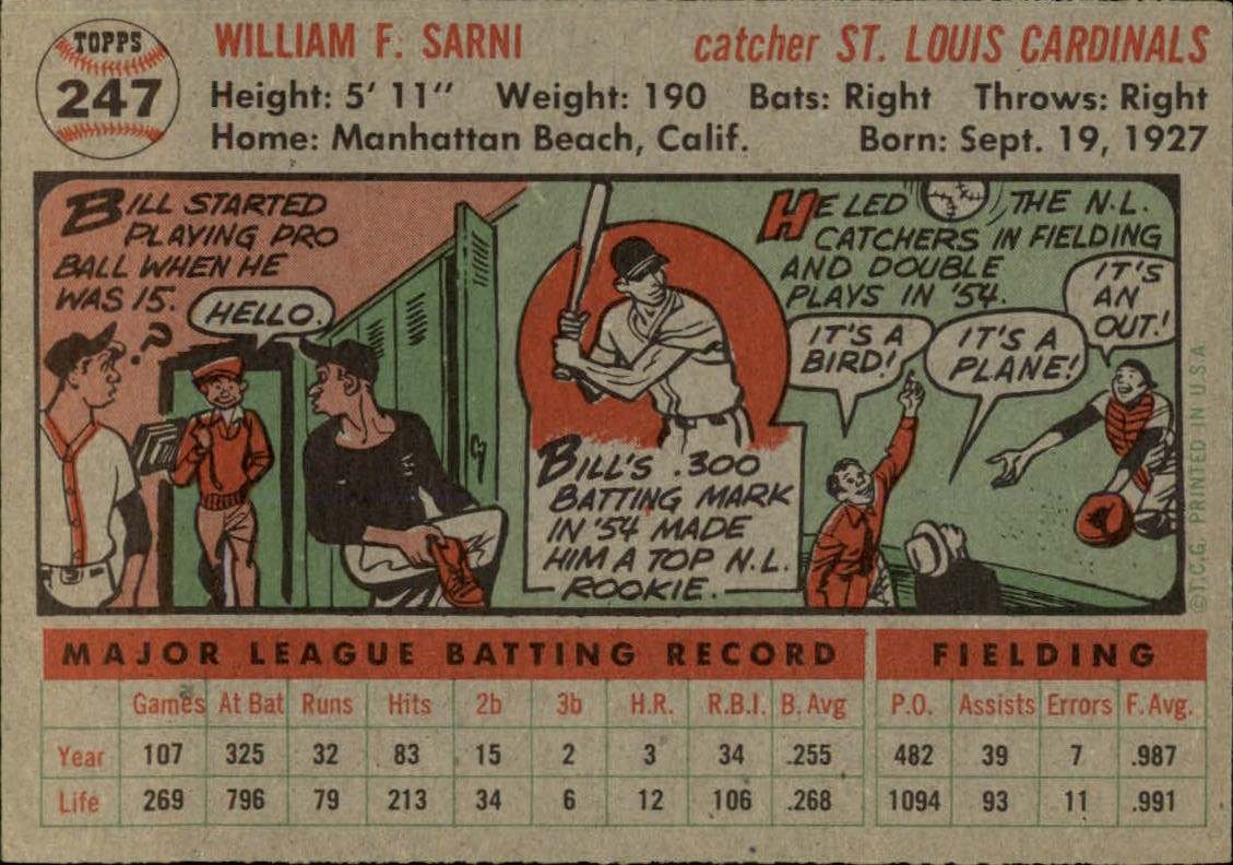 1956-TOPPS-BASEBALL-ASSORTED-SINGLES-U-PICK-242-319 thumbnail 29