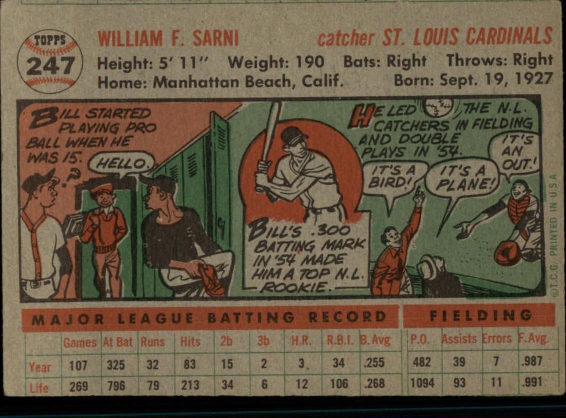 1956-TOPPS-BASEBALL-ASSORTED-SINGLES-U-PICK-242-319 thumbnail 33