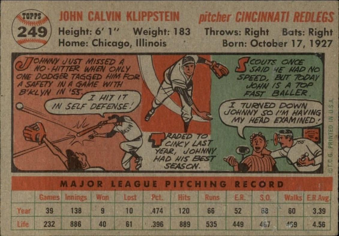 1956-TOPPS-BASEBALL-ASSORTED-SINGLES-U-PICK-242-319 thumbnail 37