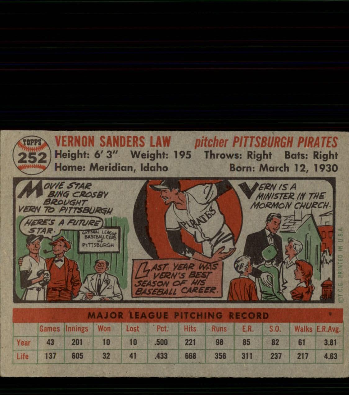 1956-TOPPS-BASEBALL-ASSORTED-SINGLES-U-PICK-242-319 thumbnail 49