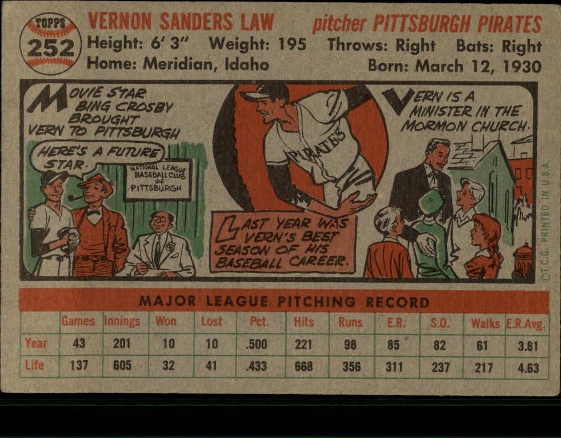 1956-TOPPS-BASEBALL-ASSORTED-SINGLES-U-PICK-242-319 thumbnail 51