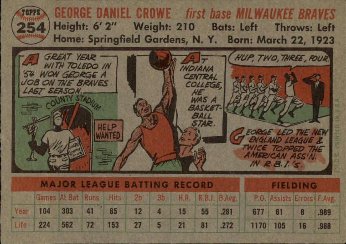 1956-TOPPS-BASEBALL-ASSORTED-SINGLES-U-PICK-242-319 thumbnail 59