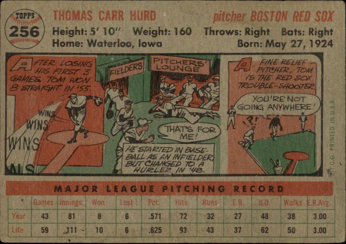 1956-TOPPS-BASEBALL-ASSORTED-SINGLES-U-PICK-242-319 thumbnail 75