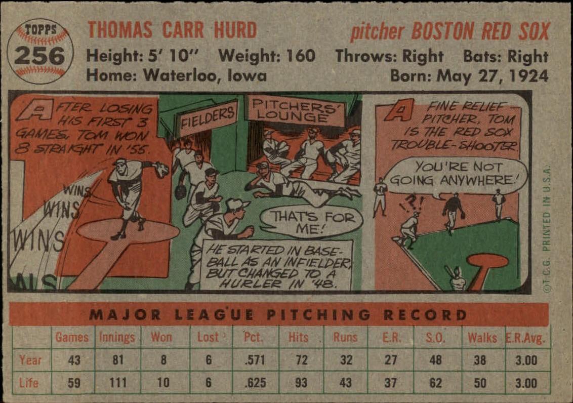 1956-TOPPS-BASEBALL-ASSORTED-SINGLES-U-PICK-242-319 thumbnail 77