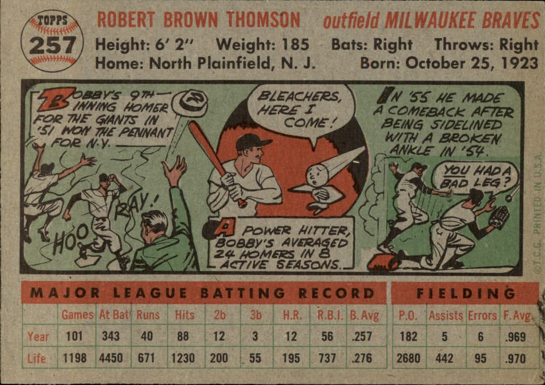 1956-TOPPS-BASEBALL-ASSORTED-SINGLES-U-PICK-242-319 thumbnail 79