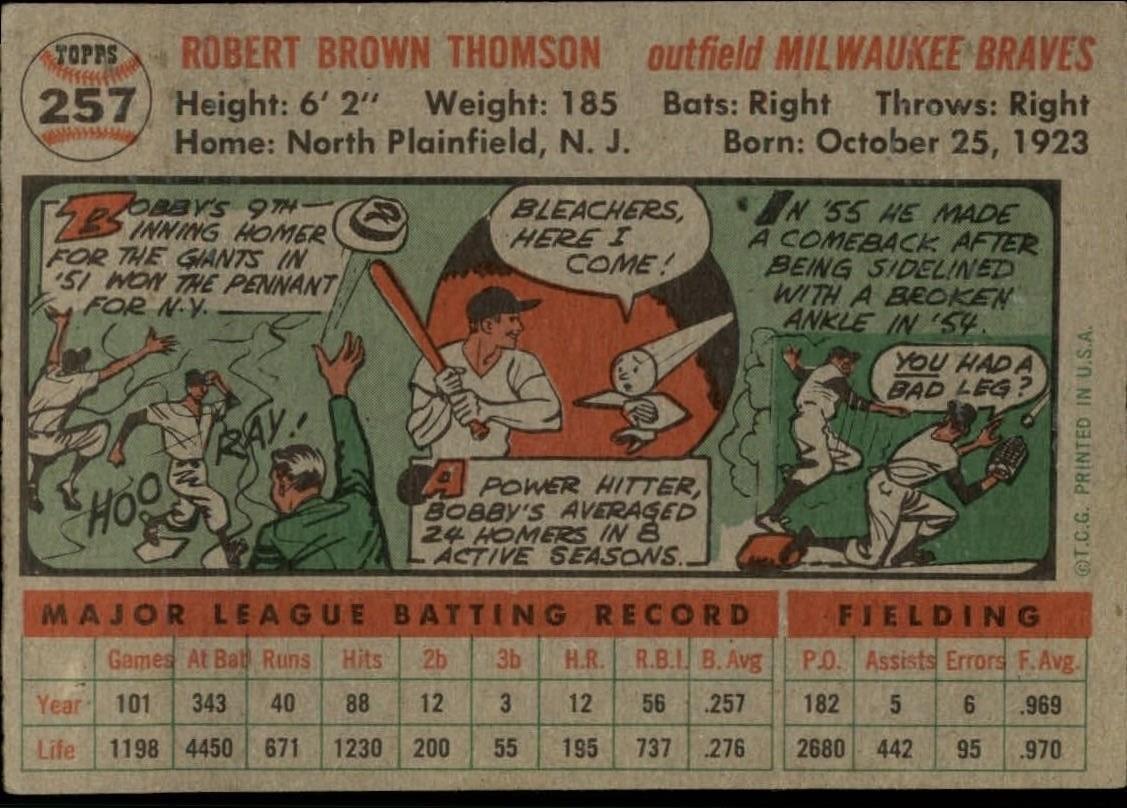 1956-TOPPS-BASEBALL-ASSORTED-SINGLES-U-PICK-242-319 thumbnail 81