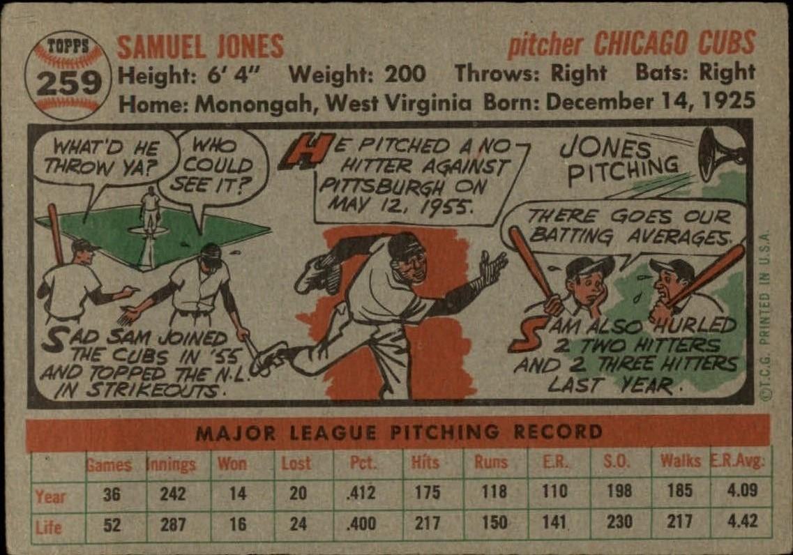 1956-TOPPS-BASEBALL-ASSORTED-SINGLES-U-PICK-242-319 thumbnail 89