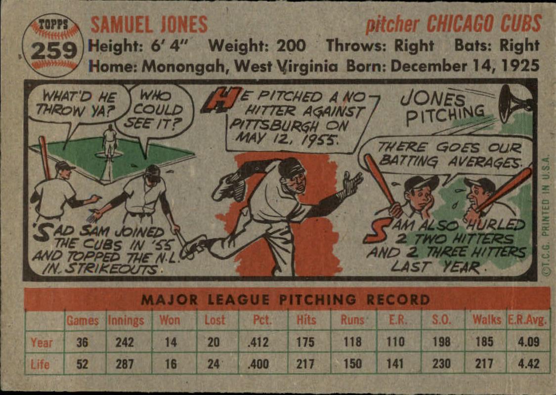 1956-TOPPS-BASEBALL-ASSORTED-SINGLES-U-PICK-242-319 thumbnail 91