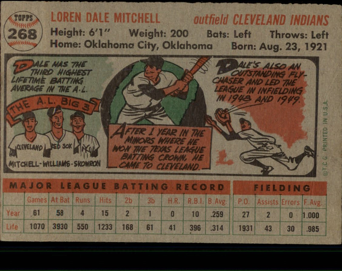 1956-TOPPS-BASEBALL-ASSORTED-SINGLES-U-PICK-242-319 thumbnail 114