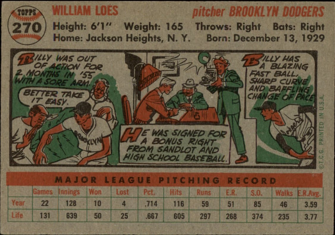 1956-TOPPS-BASEBALL-ASSORTED-SINGLES-U-PICK-242-319 thumbnail 120