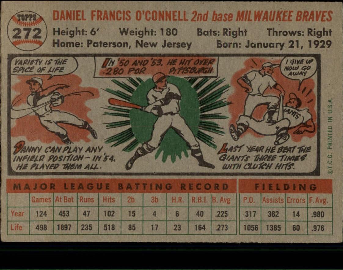 1956-TOPPS-BASEBALL-ASSORTED-SINGLES-U-PICK-242-319 thumbnail 126