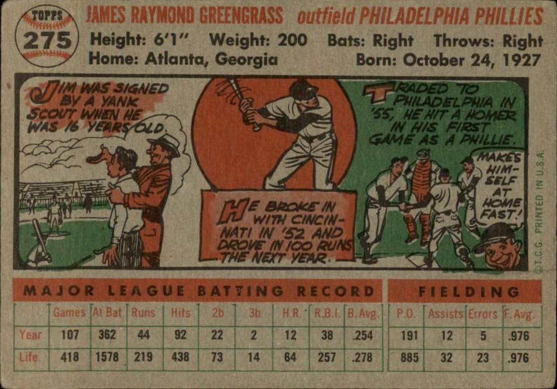1956-TOPPS-BASEBALL-ASSORTED-SINGLES-U-PICK-242-319 thumbnail 134
